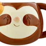 Grindstore-Just-Hanging-Around-Sloth-Head-Moulded-Mug-for-Tea-or-Coffee-Brown-95-x-155-x-125cm-Ceramic-Multi-Heigh-B07PG4T3T1